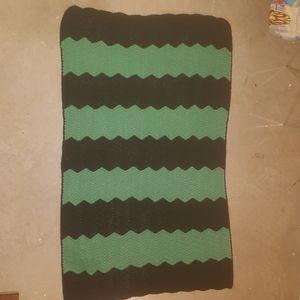 BOGO 1/2 Off Crochet Chevron Afghan